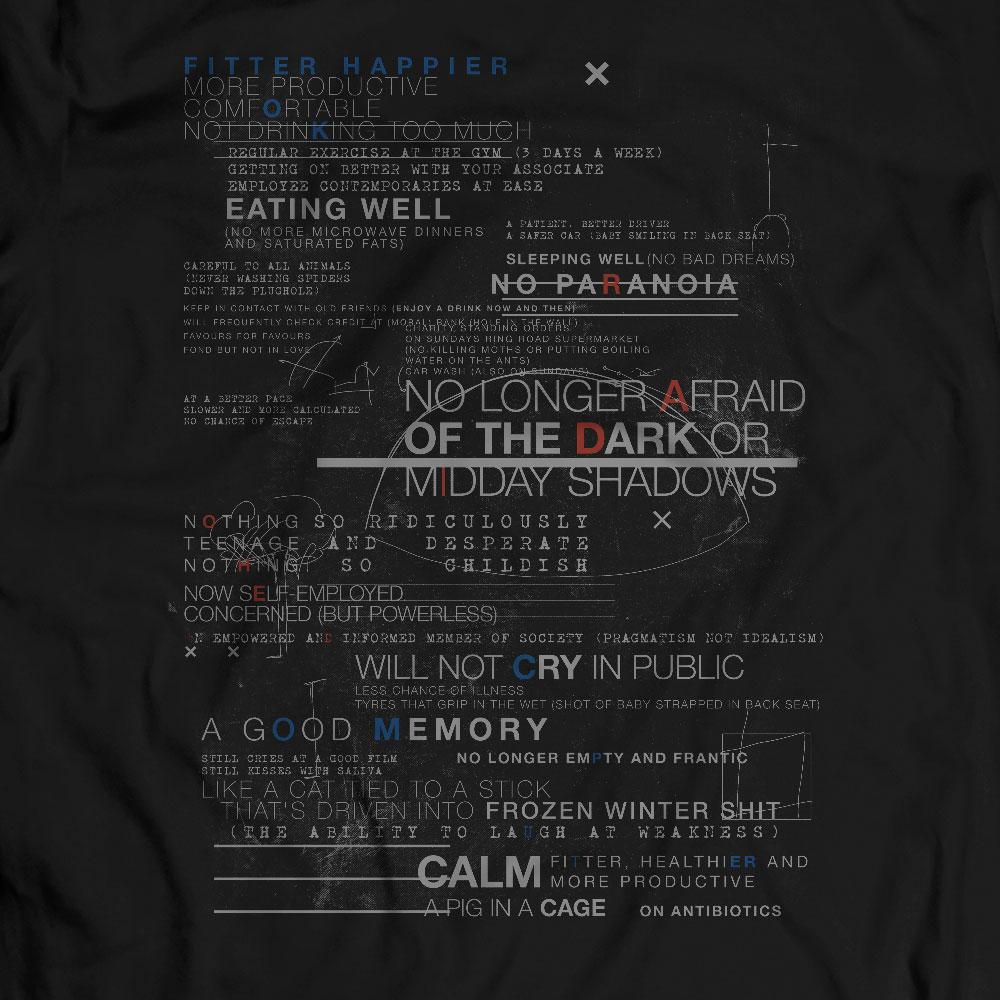 Camiseta Fitter Happier - Masculino