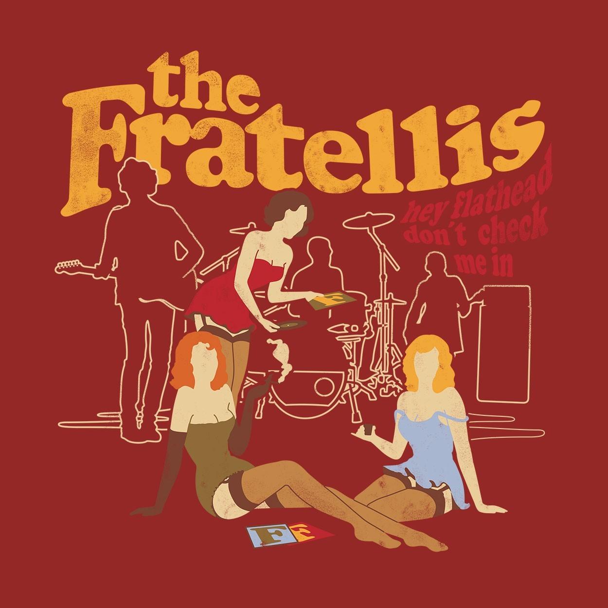 Camiseta Flathead - The Fratellis - Masculino