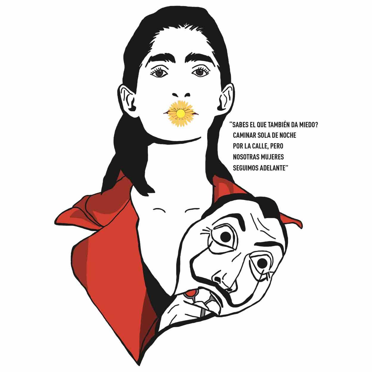 Camiseta Nairobi - La casa de Papel - Feminino