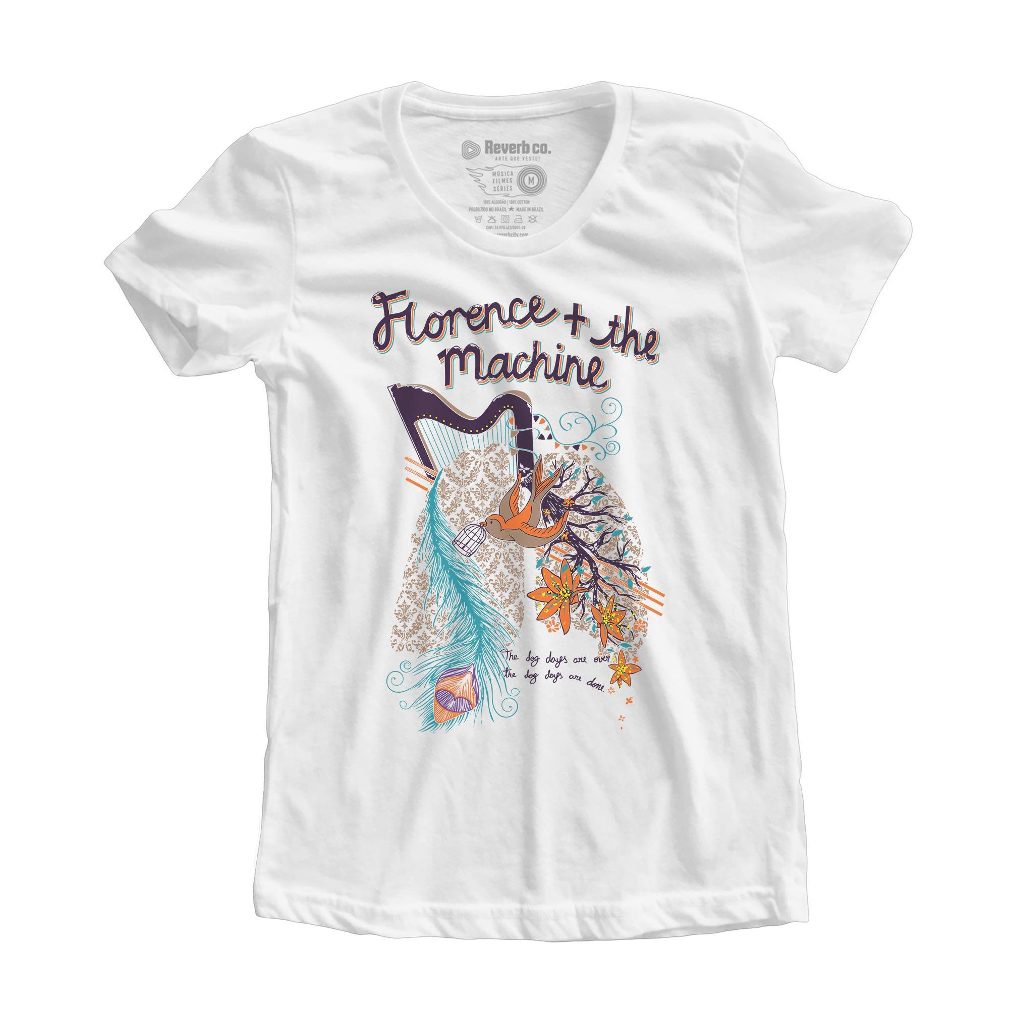 Camiseta Florence and the Machine - Feminino