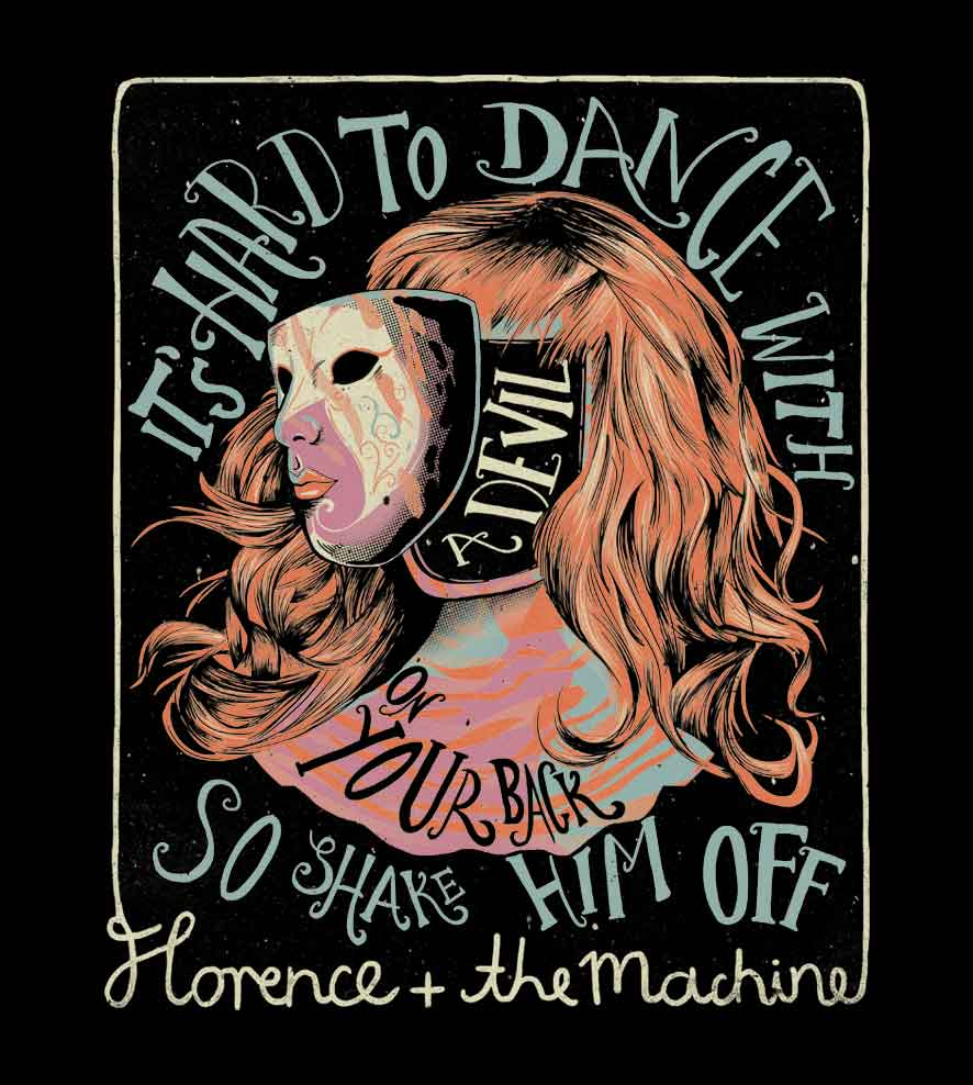 Camiseta Shake It Out - Florence and The Machine - Feminino