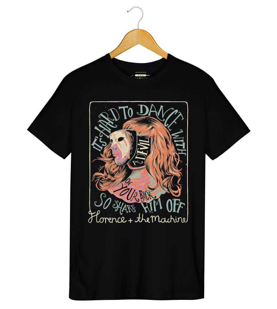 Camiseta - Florence and The Machine - Shake It Out - Masculino