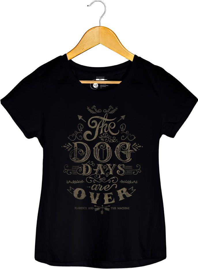 Camiseta The Dog Day - Florence and The Machine - Feminino