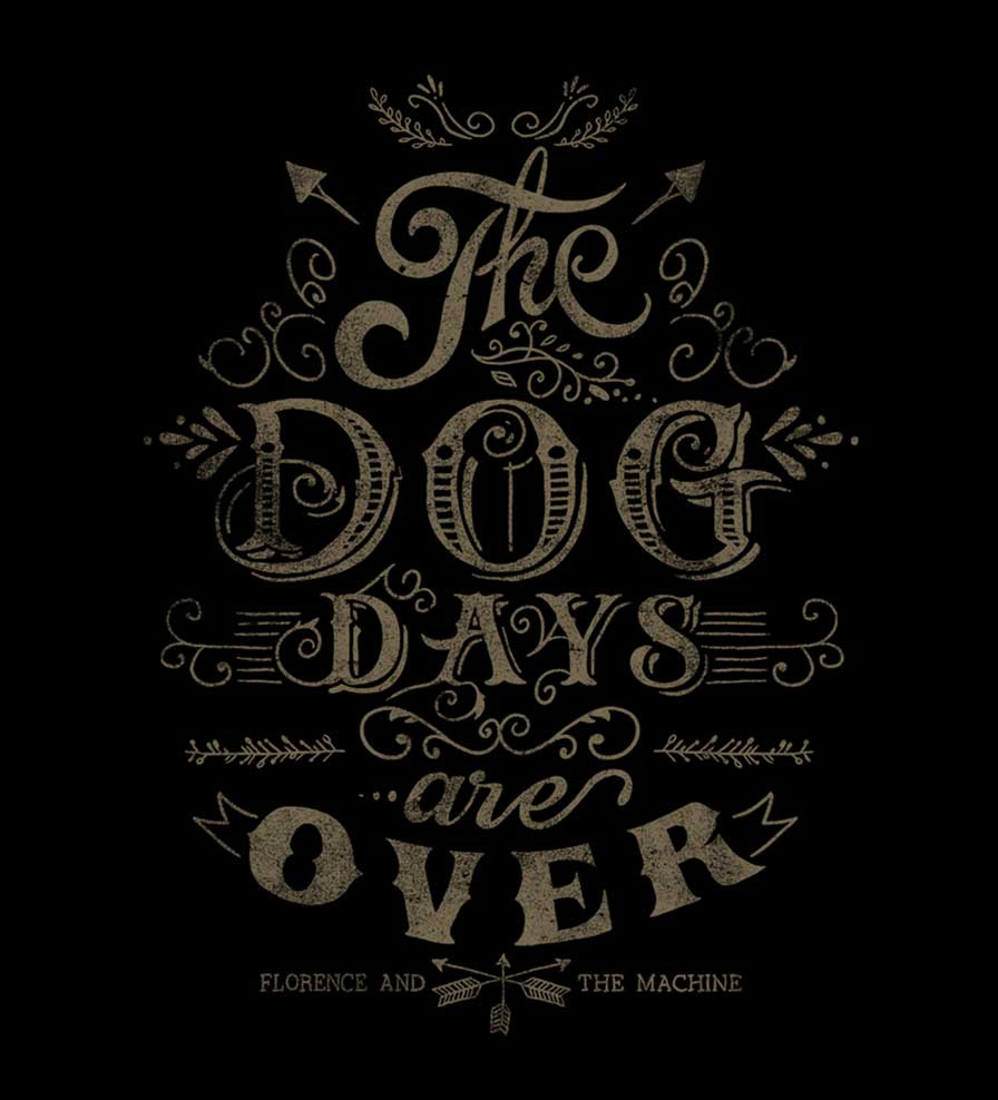 Camiseta Florence and The Machine - The Dog Day - Masculino