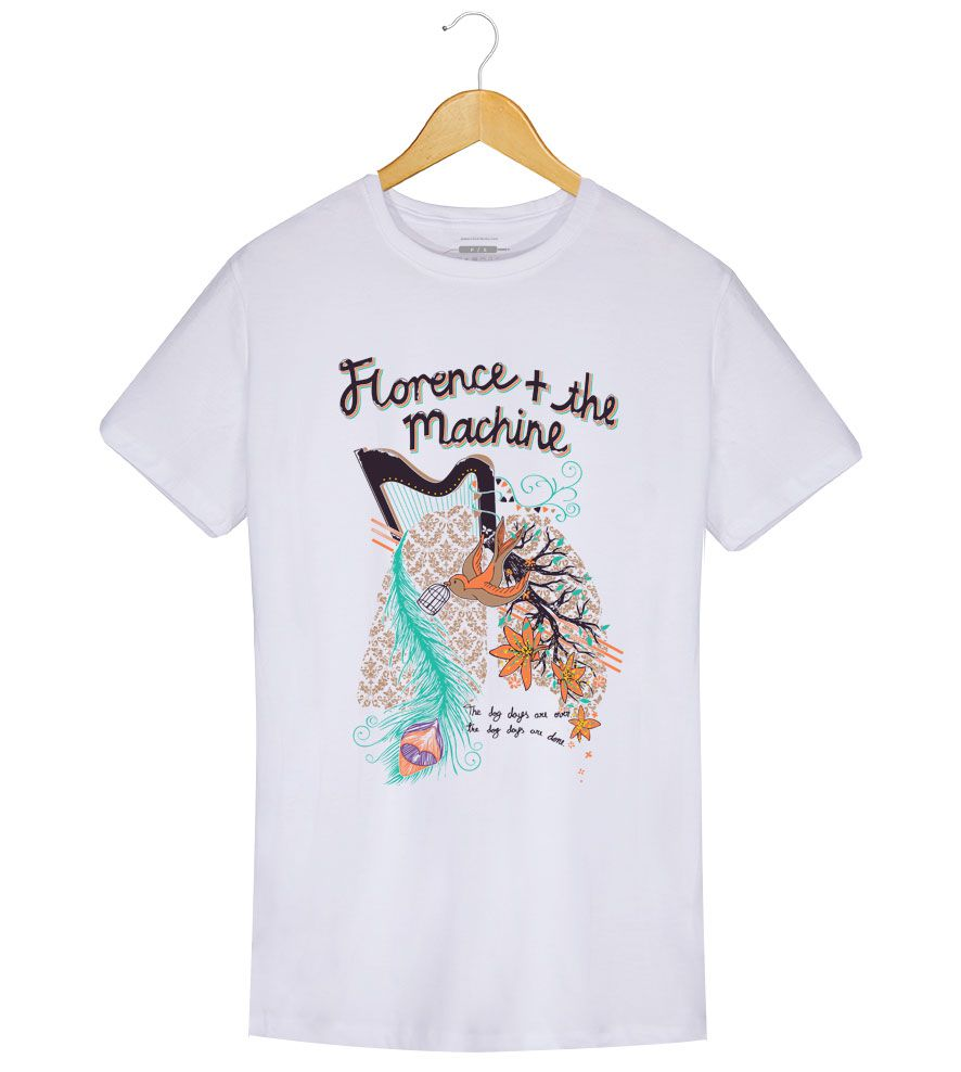 Camiseta - The Dog Dayes - Florence and The Machine - Masculino
