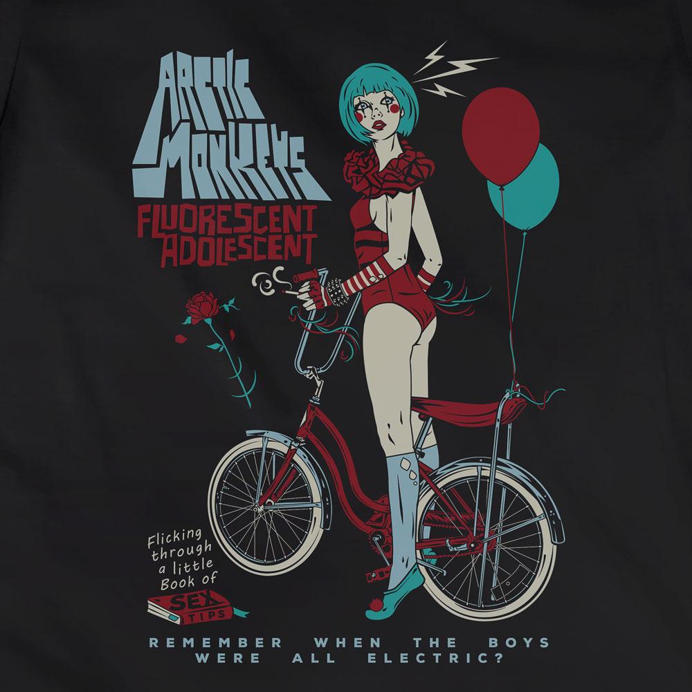 Camiseta Fluorescent Adolescent - Arctic Monkeys - Feminino
