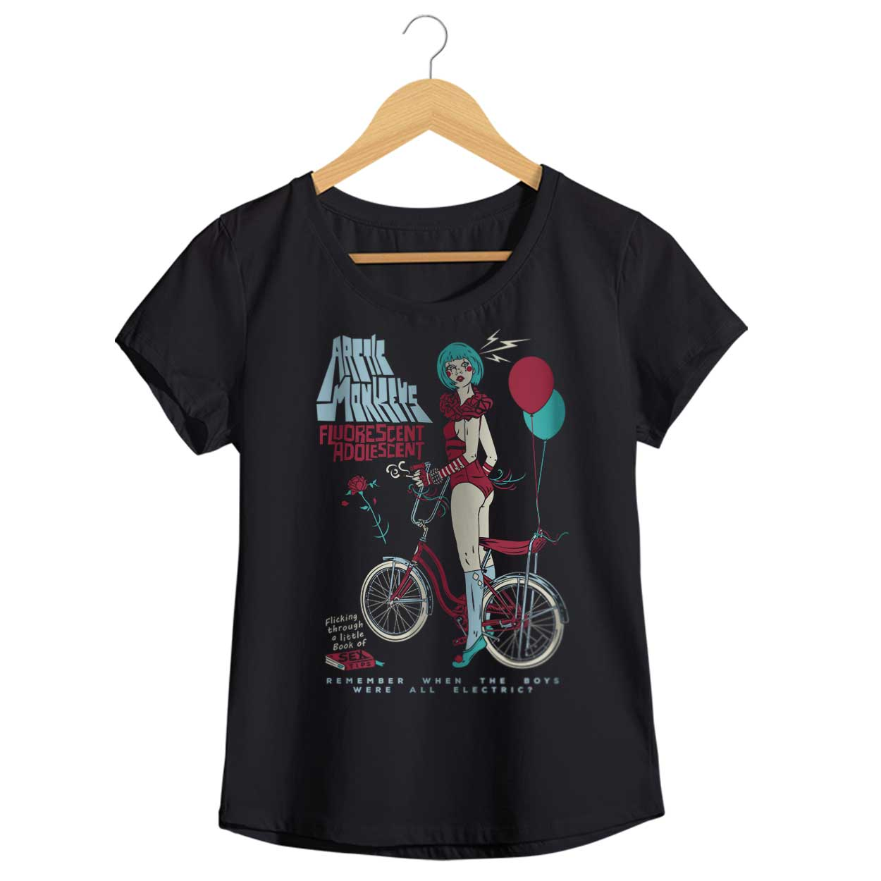 Camiseta - Fluorescent Adolescent - Artic Monkeys - Feminino