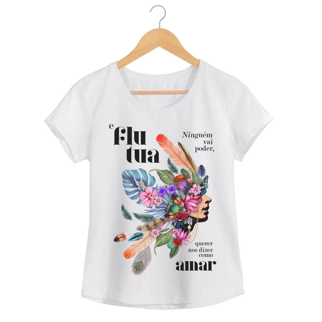 Camiseta Flutua - Johnny Hooker - Feminino