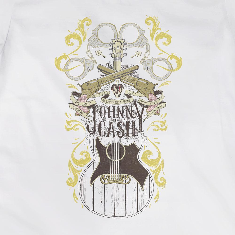 Camiseta Folsom Prison Blues - Johnny Cash - Feminino