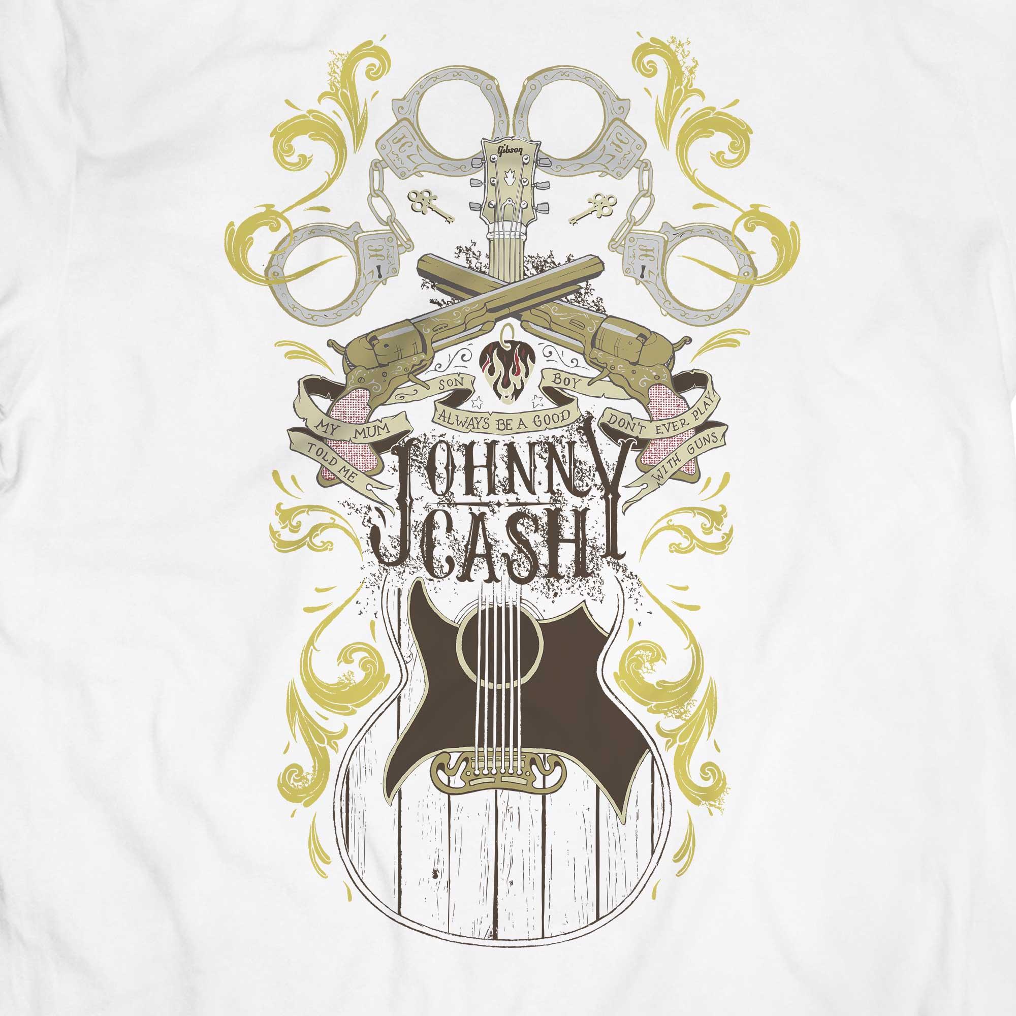 Camiseta Folsom Prison Blues - Johnny Cash - Masculino
