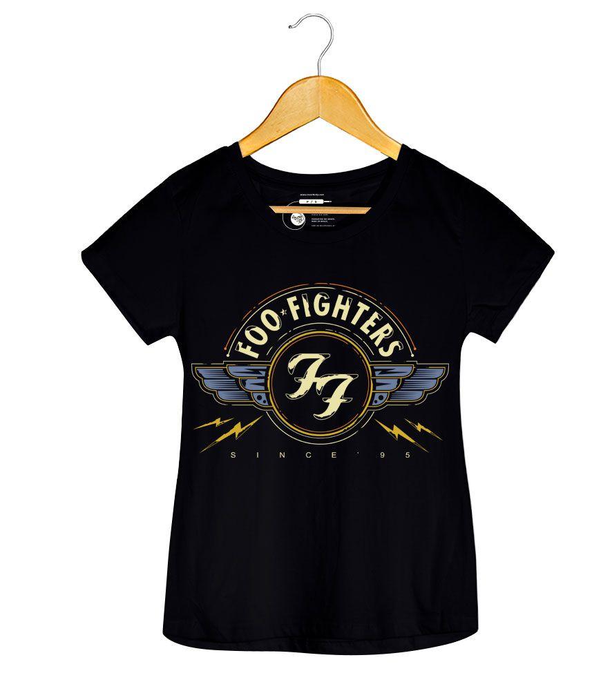 Camiseta - Since 95 - Foo Fighters -  Feminino