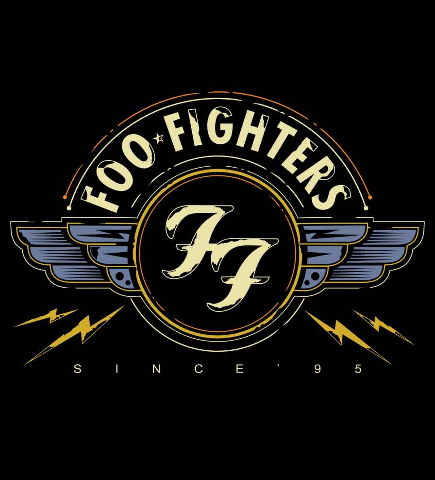 Camiseta Since 95 - Foo Fighters -  Feminino