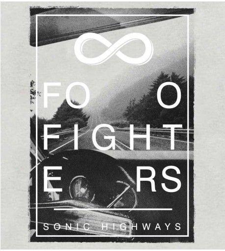 Camiseta - Sonic Highways - Foo Fighters - Masculino
