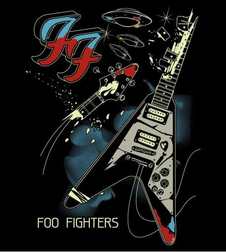 Camiseta Foo Fighters - Um - Feminino