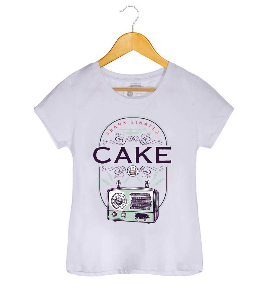 Camiseta - Cake -  Frank Sinatra - Feminino