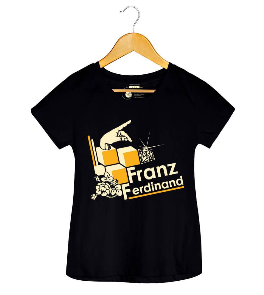 Camiseta Franz Ferdinand - Feminino