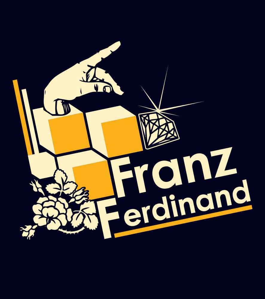 Camiseta - Franz Ferdinand - Masculino