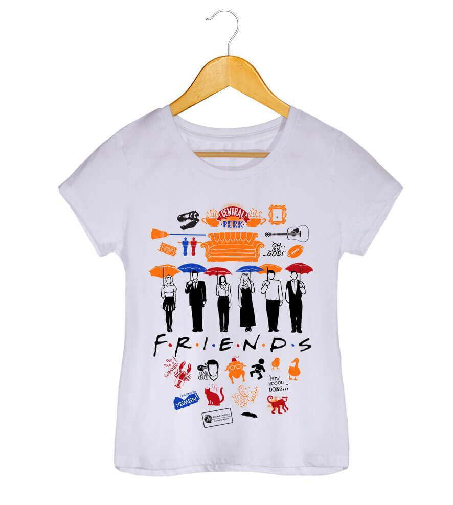 Camiseta - Friends - Feminino