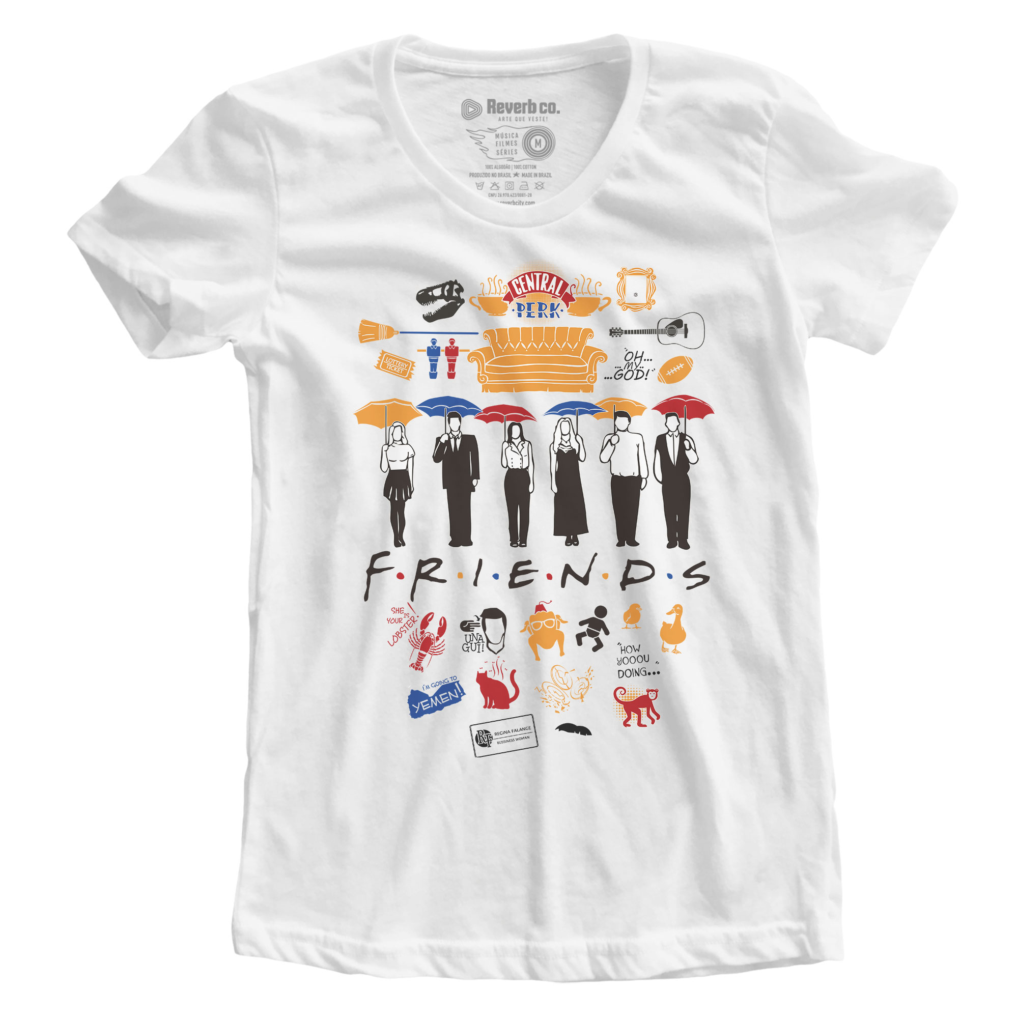 Camiseta Friends - Feminino