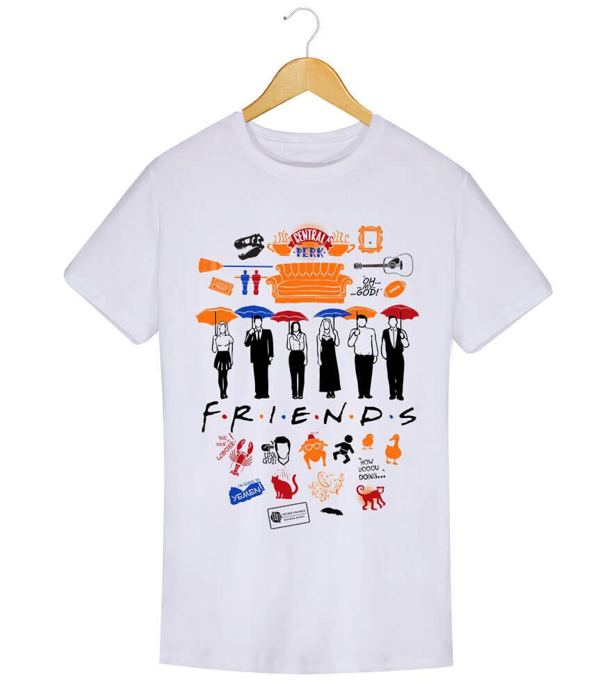 Camiseta - Friends - Masculino