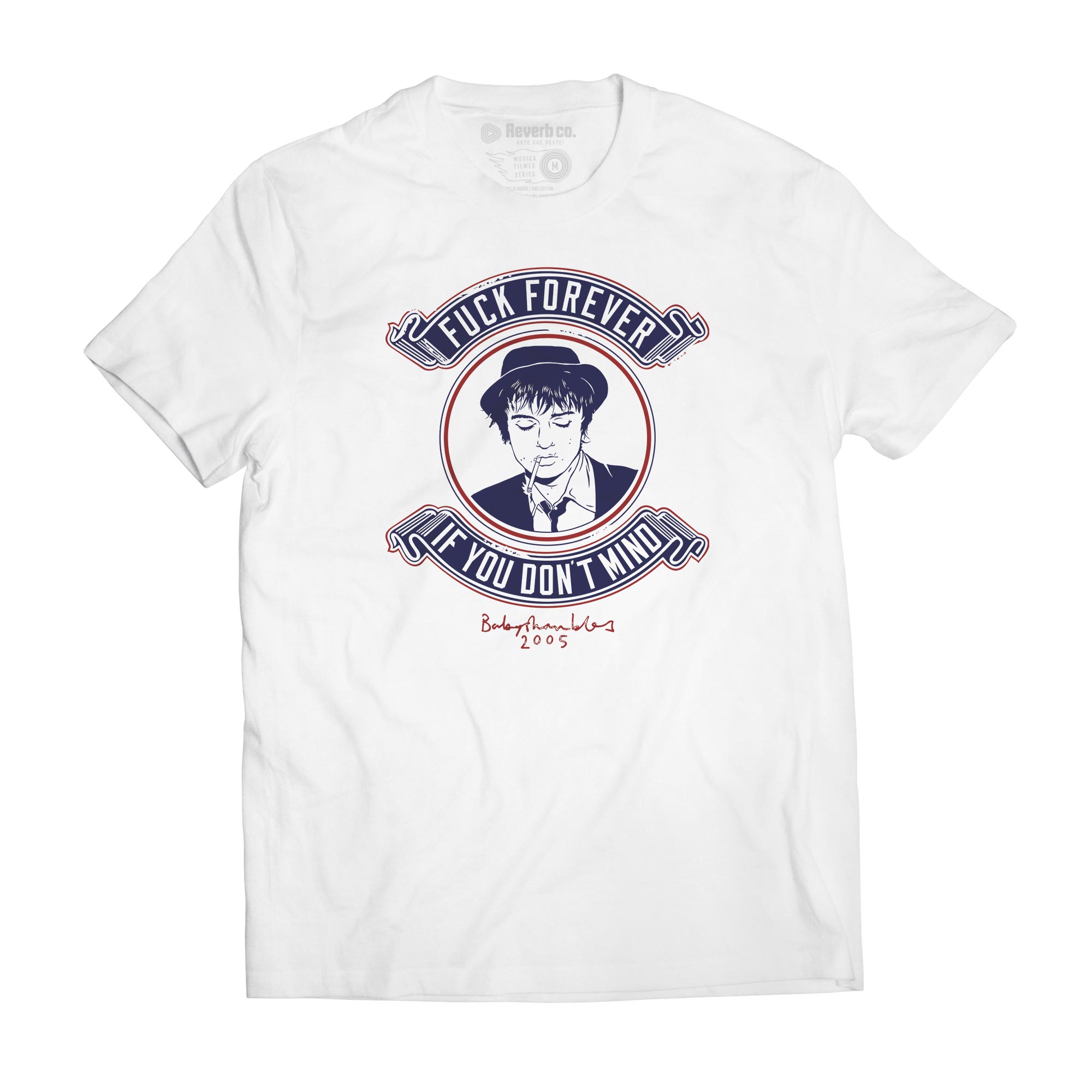 Camiseta Fuck Forever - Pete Doherty - Masculino