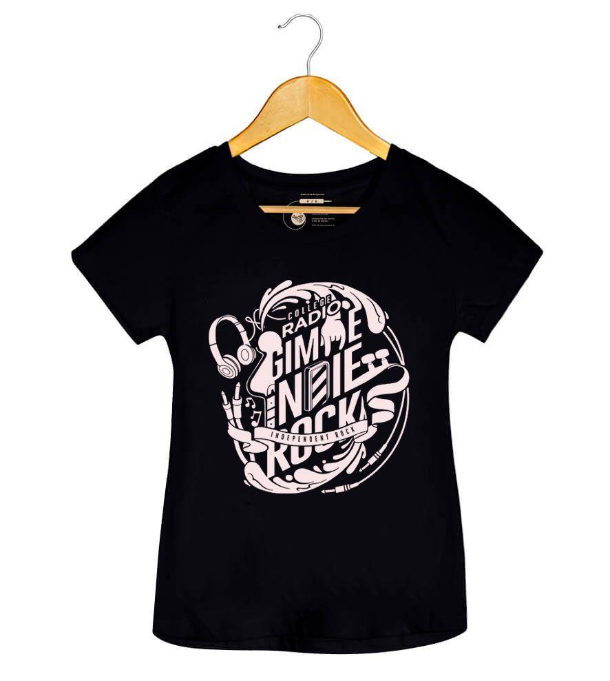 Camiseta - Gimme Indie Rock - Feminino