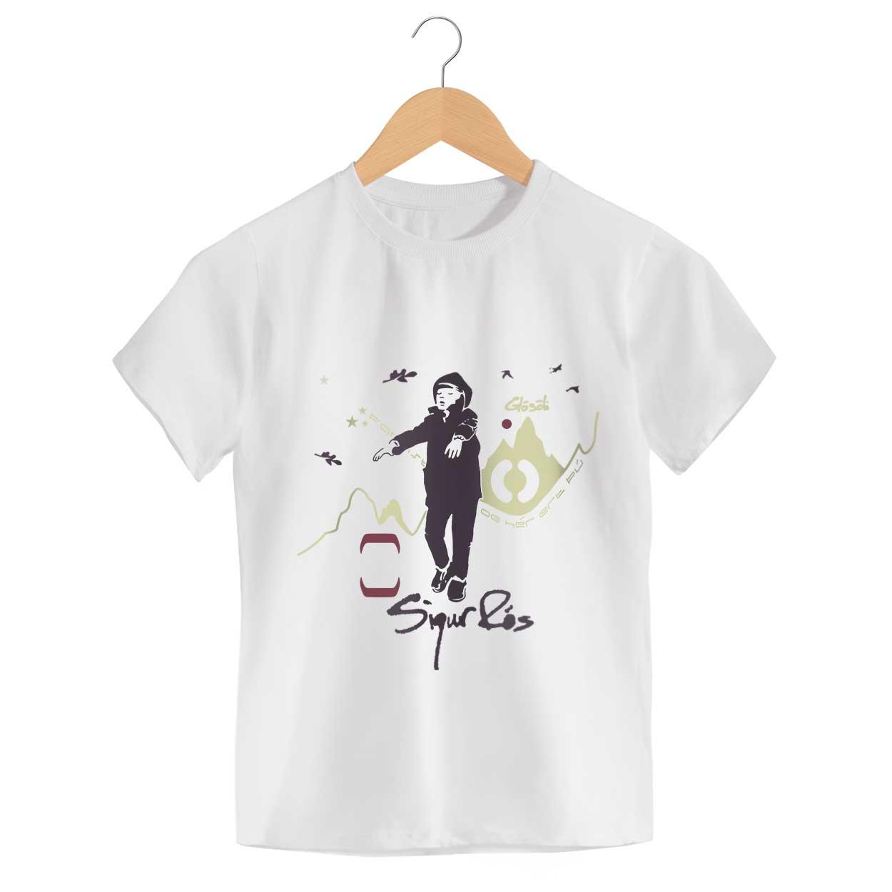Camiseta - Glosoli - Sigur Rós - Infantil