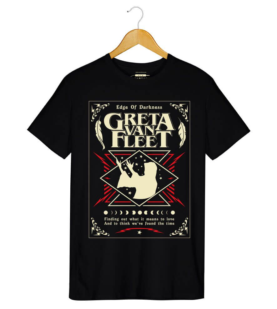 Camiseta - Edge of Darkness - Greta Van Fleet - Masculino