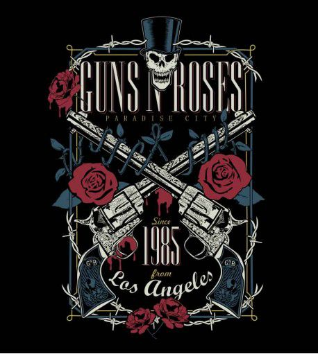 Camiseta - Guns N Roses - Paradise City - Masculino