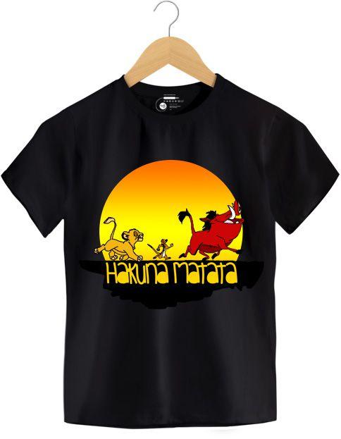 Camiseta - Hakuna Matata - O Rei Leão - Infantil