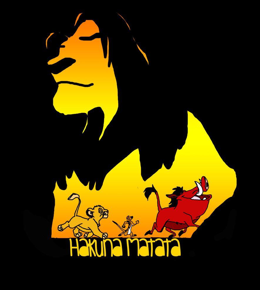 Camiseta Hakuna Matata -  O Rei Leão - Infantil