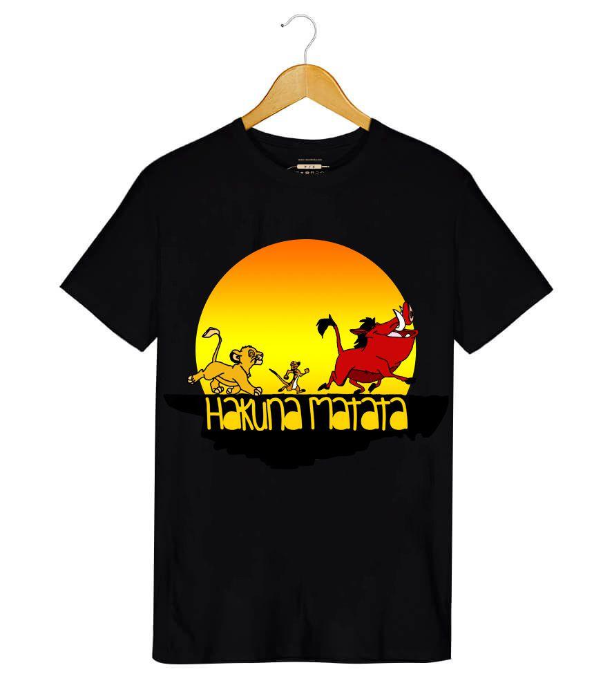 Camiseta - Hakuna Matata - Rei Leão - Masculino