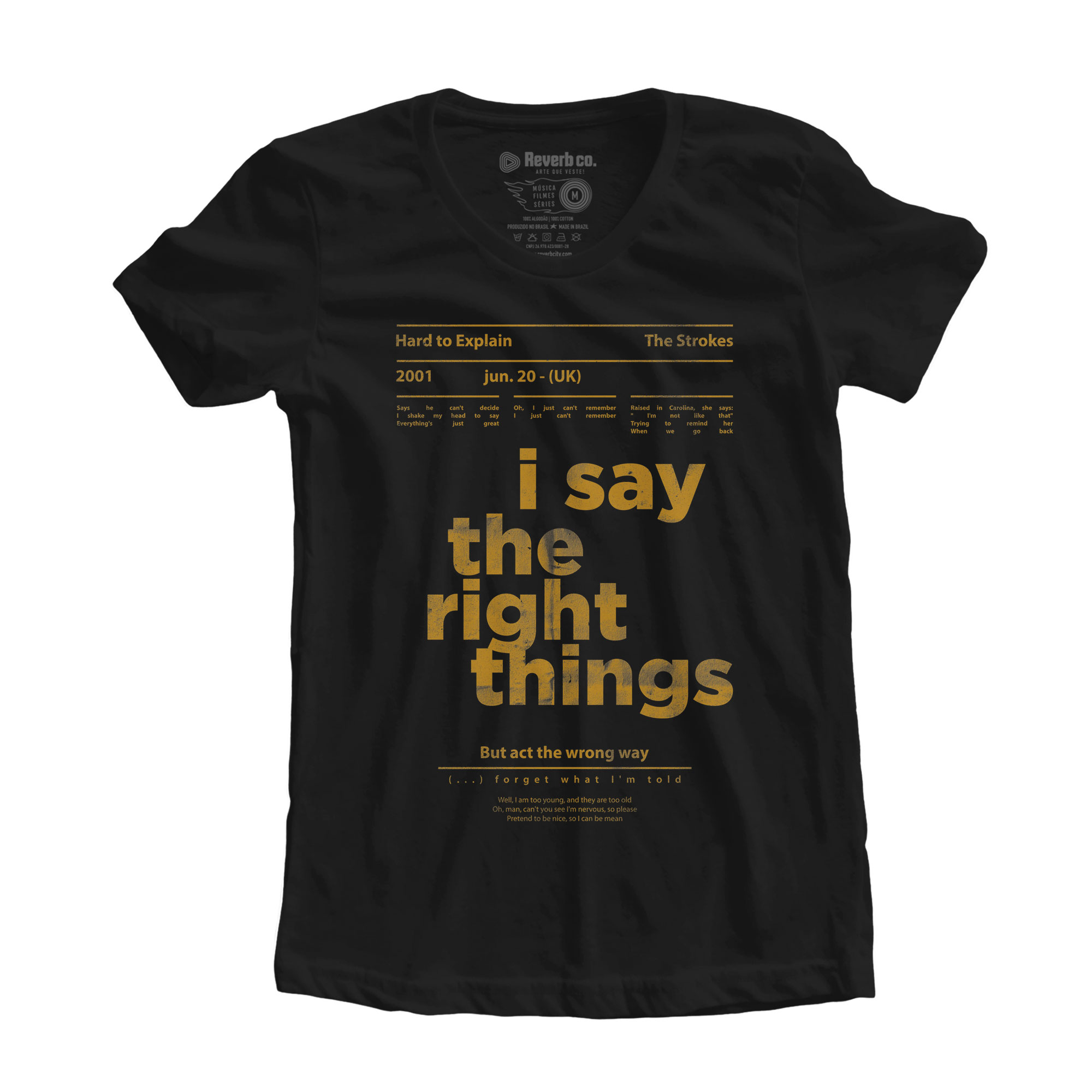 Camiseta Hard to Explain -  The Strokes - Feminino
