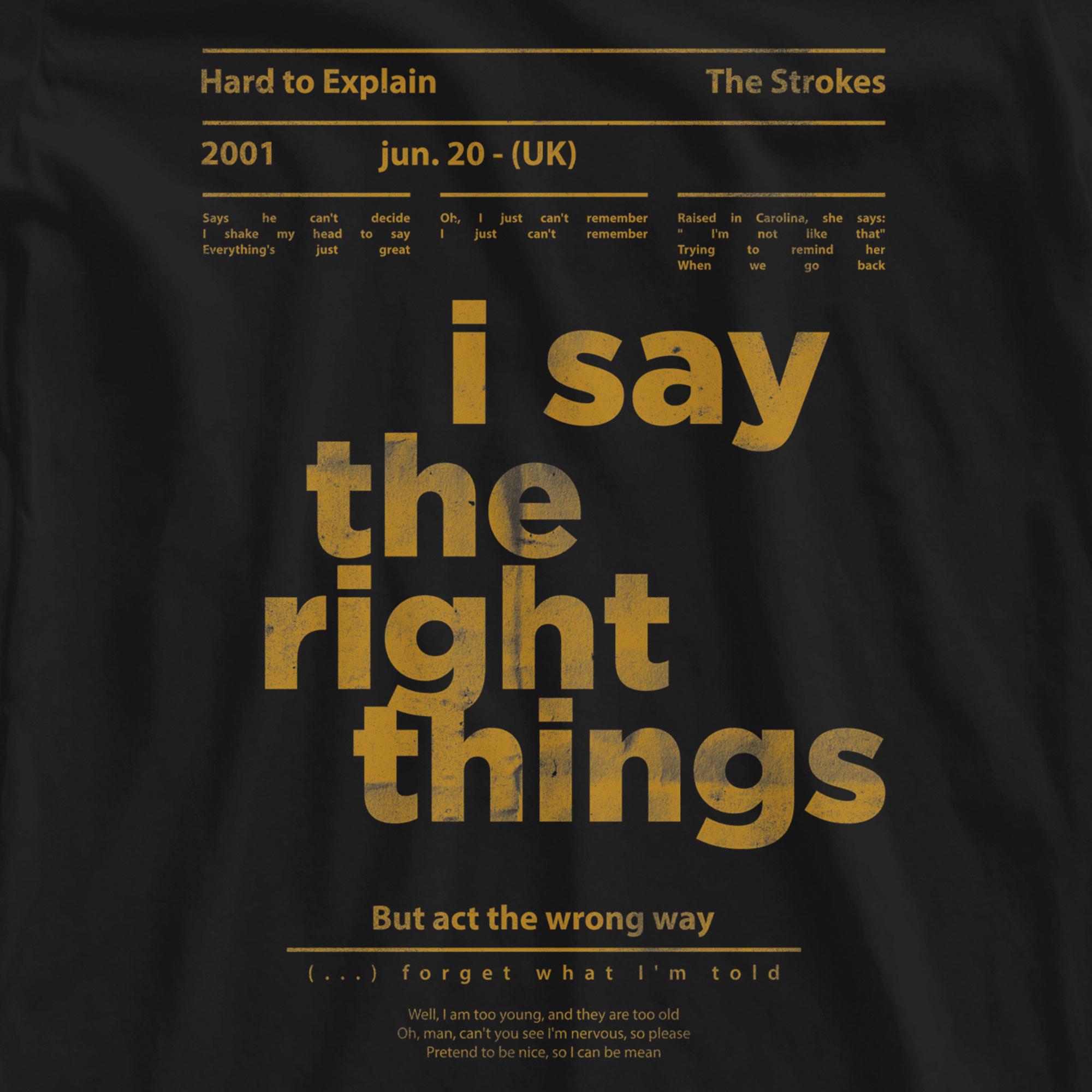 Camiseta Hard to Explain -  The Strokes - Feminino