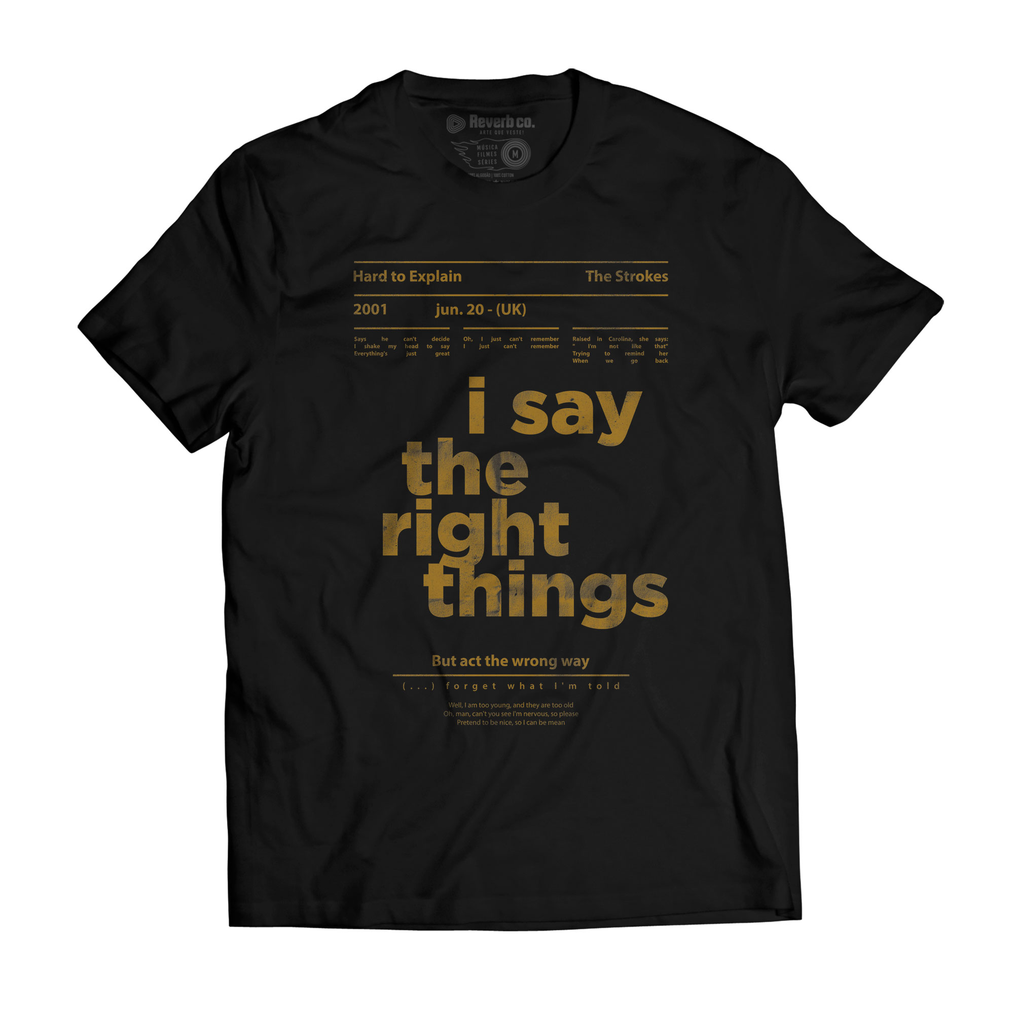 Camiseta Hard to Explain - The Strokes - Masculino
