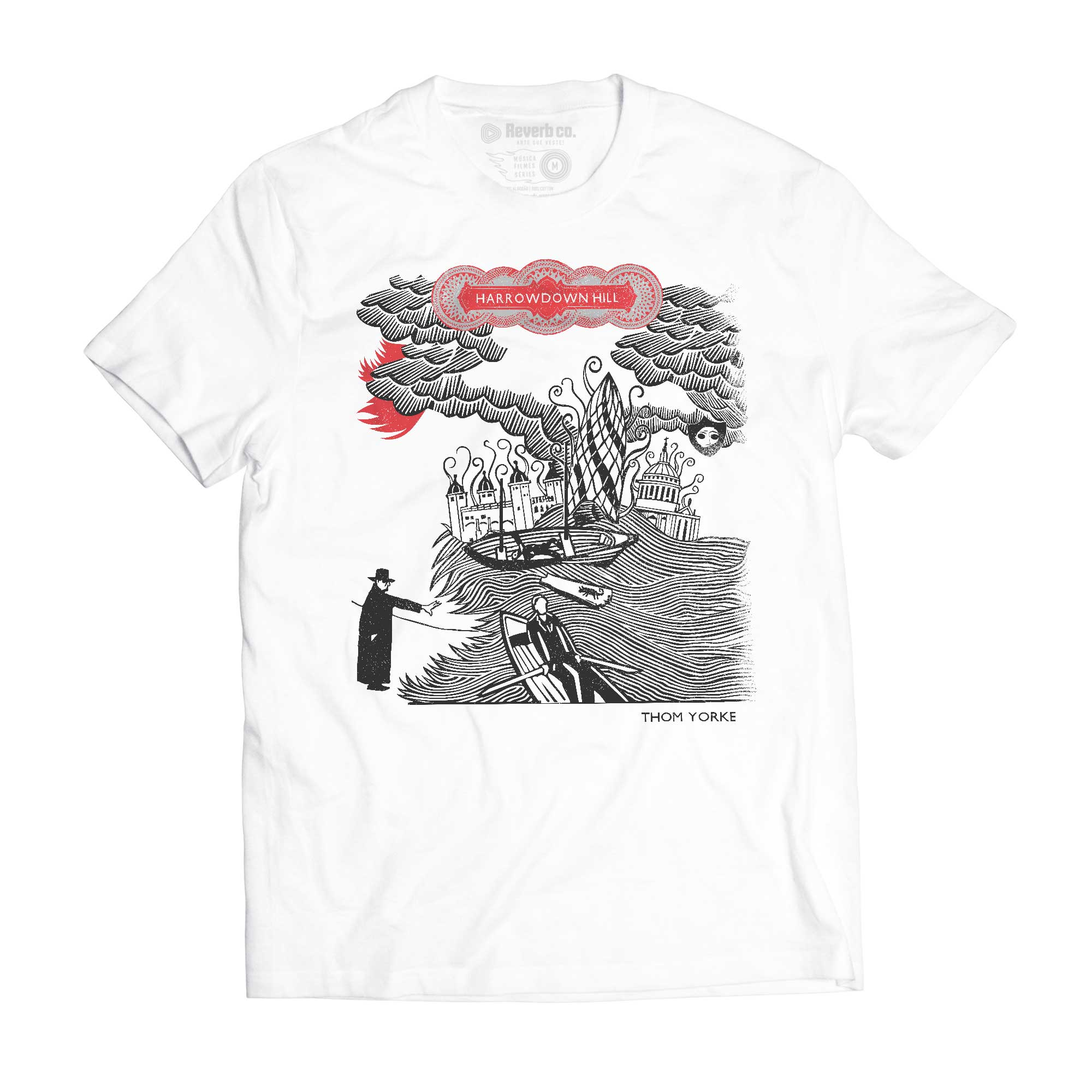Camiseta Harrowdown Hill - Thom Yorke - Masculino