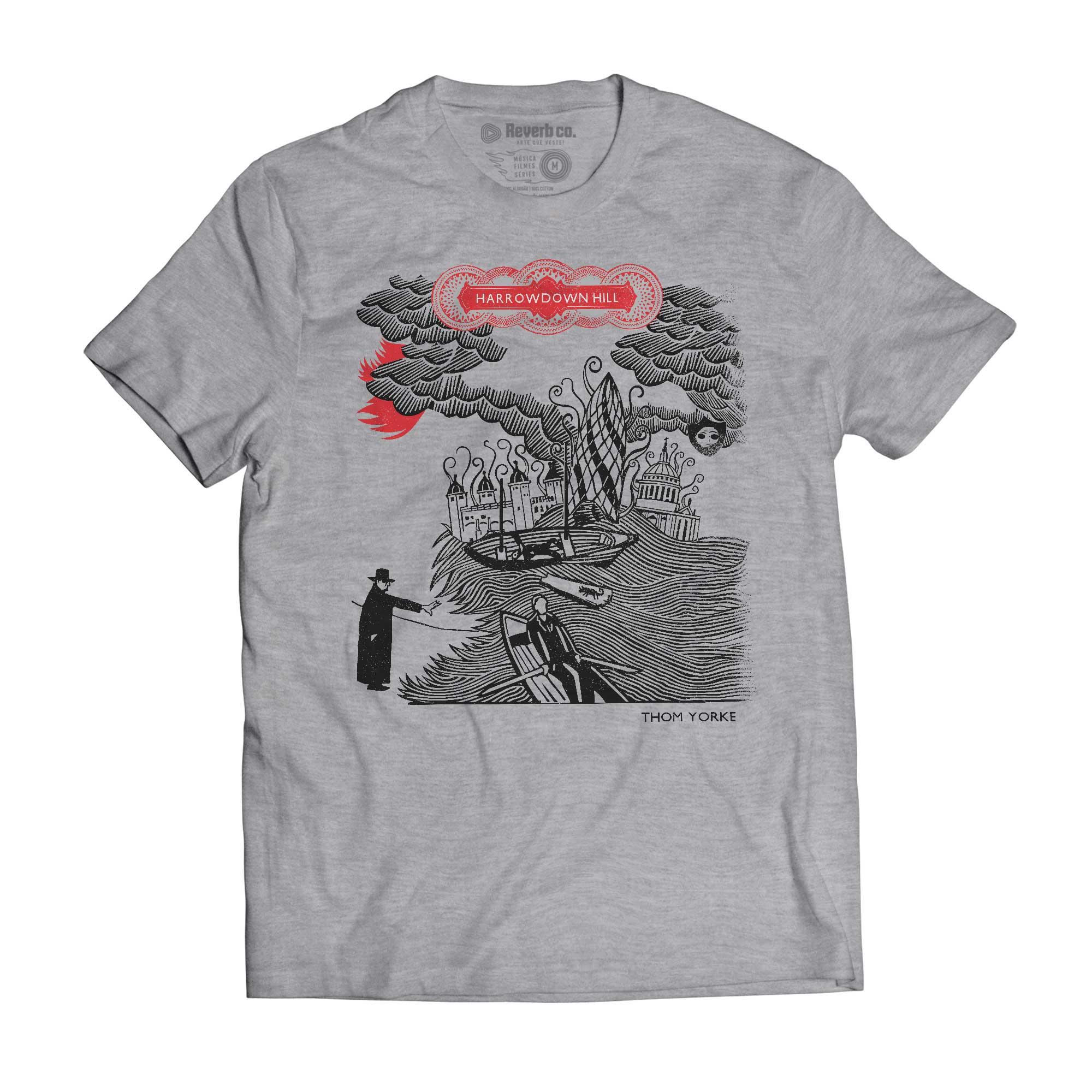 Camiseta Harrowdown Hill - Thom Yorke - Masculino