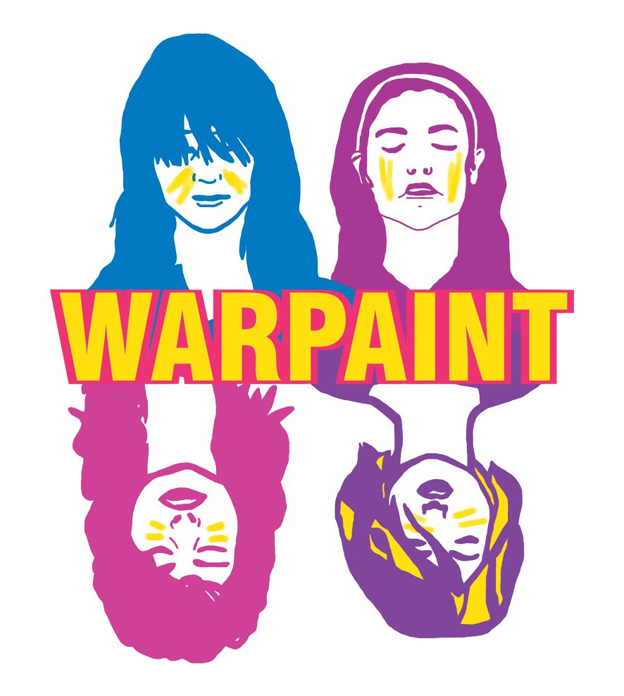 Camiseta - Heads Up! - Warpaint - Feminino