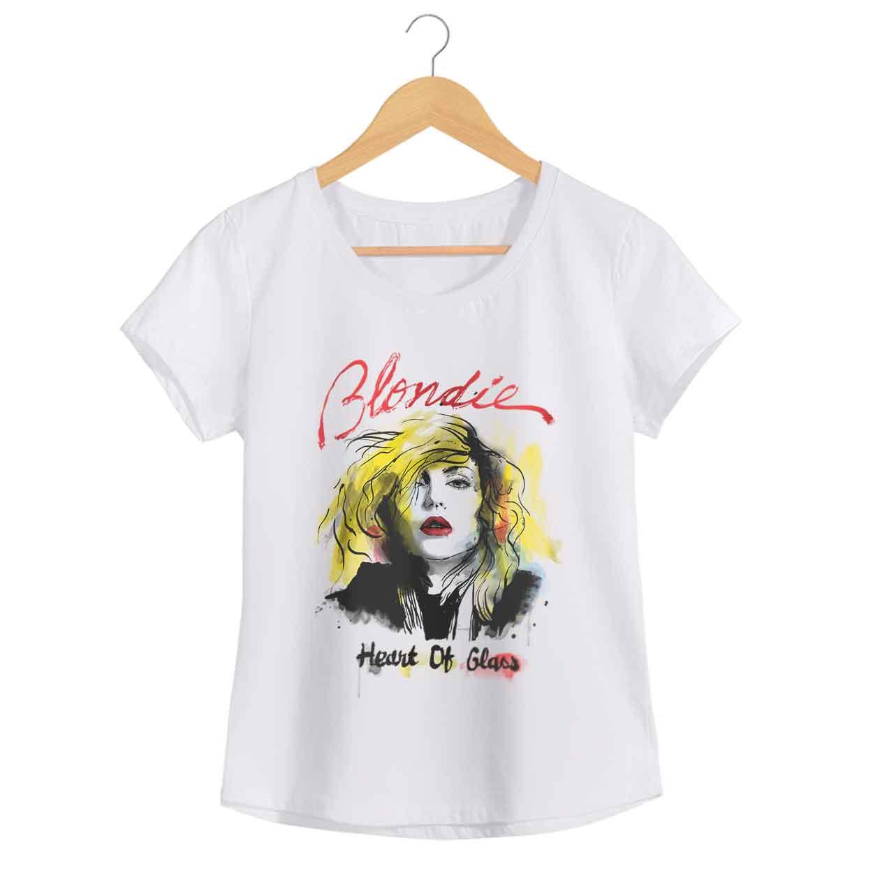 Camiseta Debbie Harry -  Blondie - Feminino