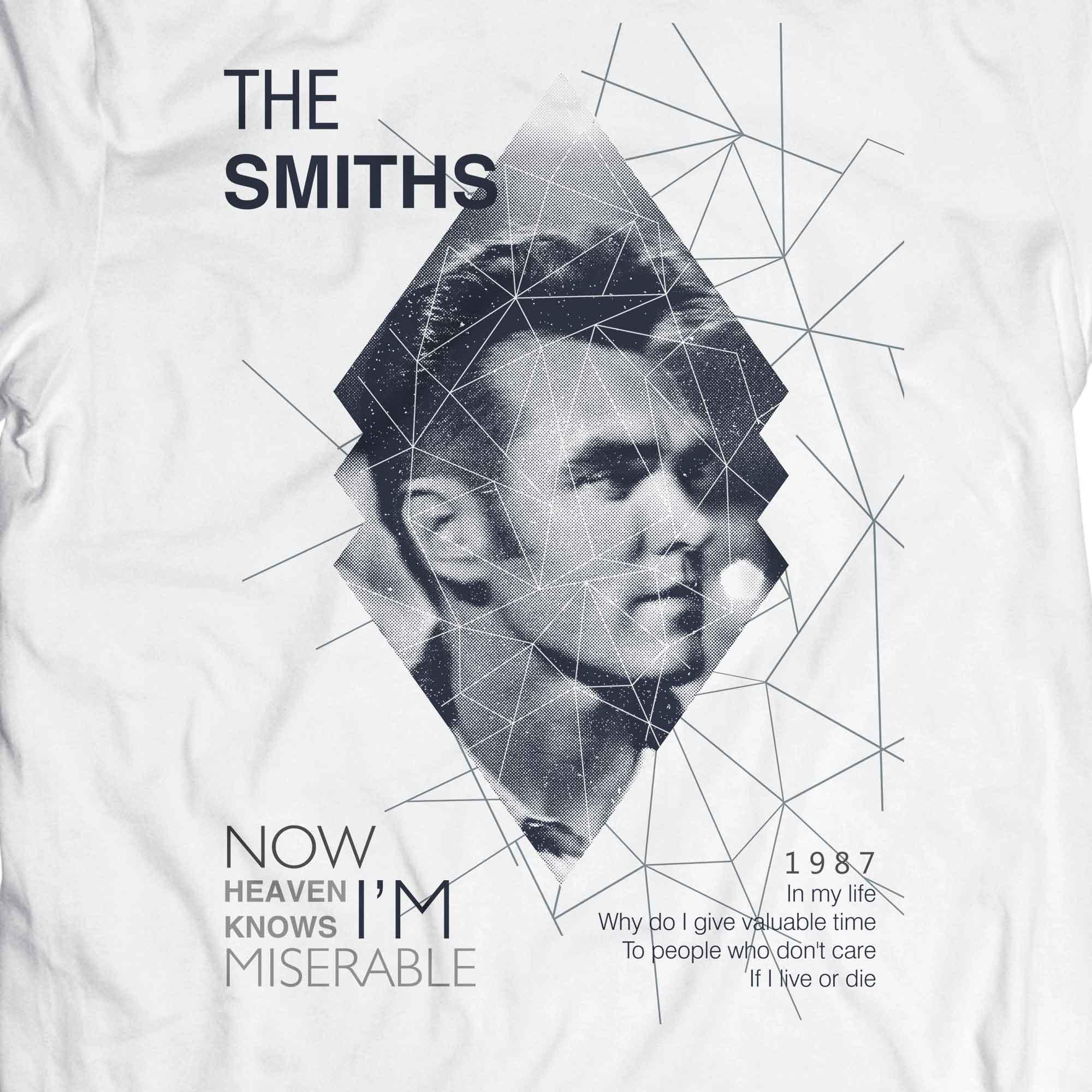 Camiseta Heaven Knows - The Smiths - Masculino