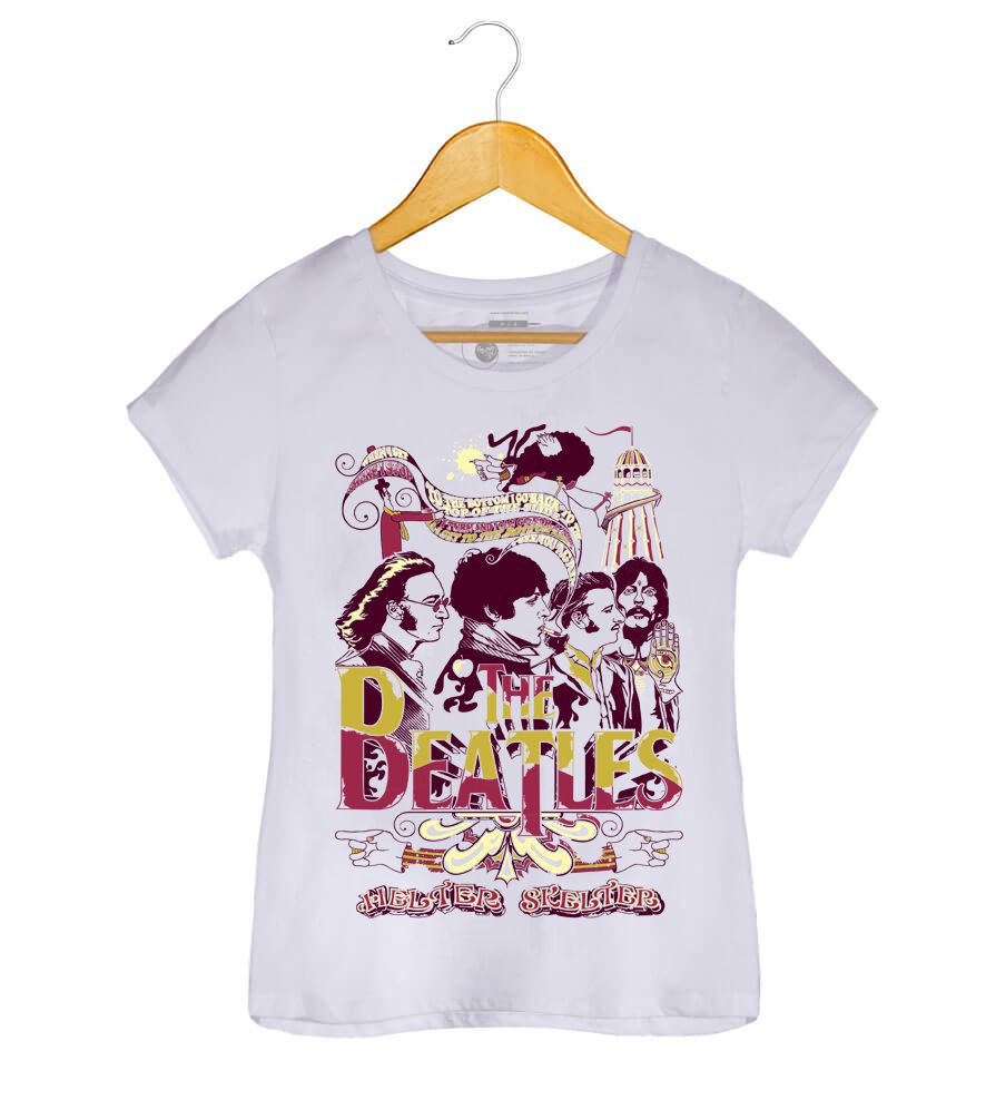 Camiseta - Helter Skelter - The Beatles - Feminino