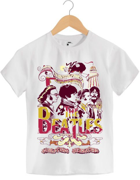 Camiseta - Helter Skelter - The Beatles - Infantil