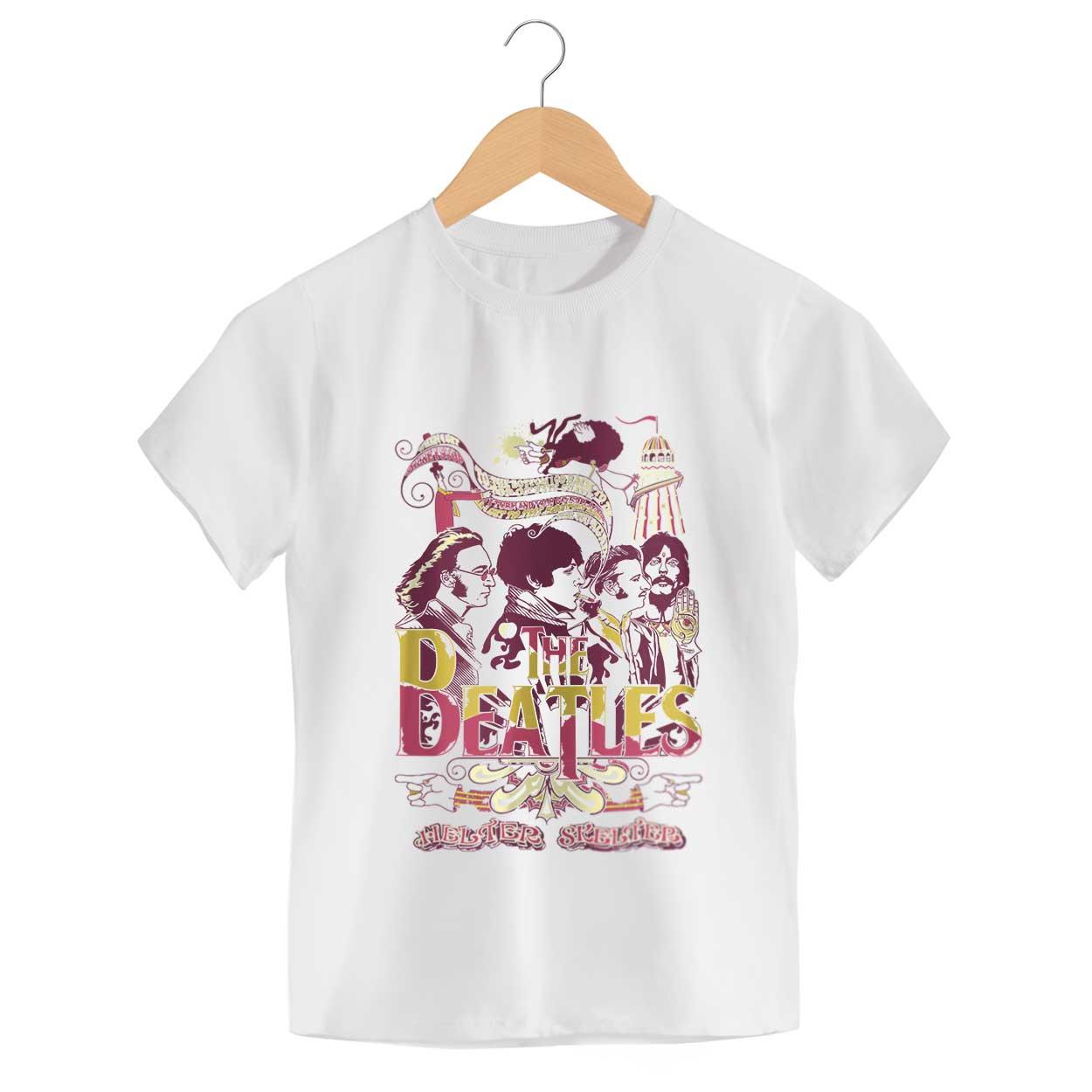 Camiseta - Helter Skelter - The Beatles - Infantil
