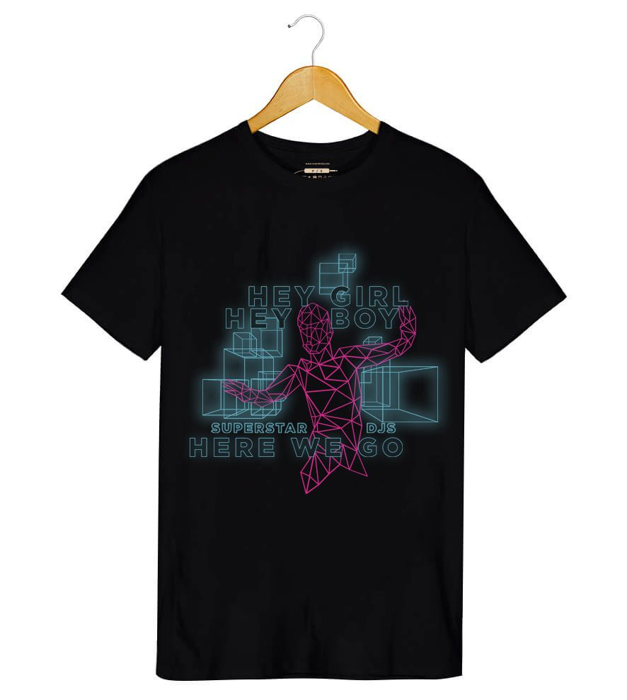 Camiseta - Hey Boy! Hey Girl! - The Chemical Brothers - Masculino