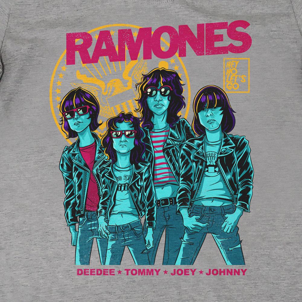 Camiseta Hey Ho - Ramones - Feminino
