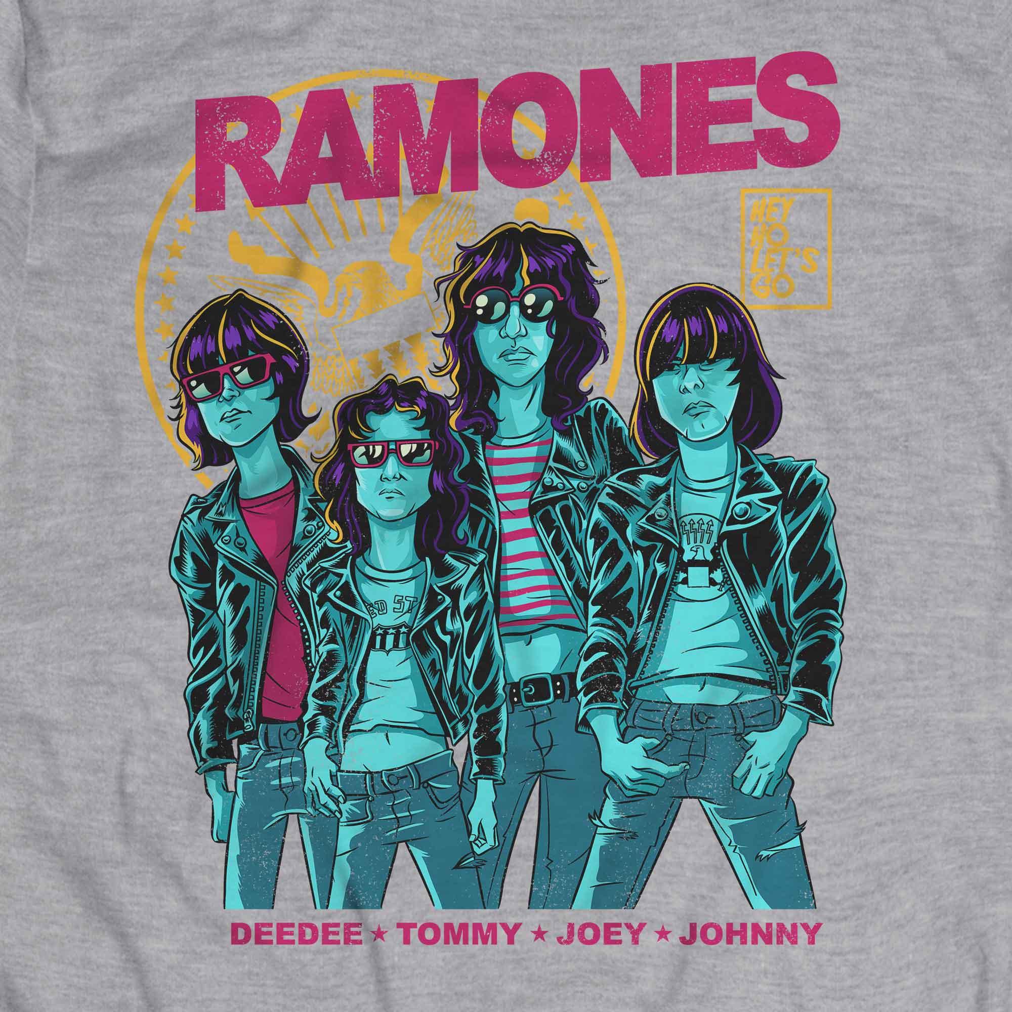 Camiseta Hey Ho - Ramones - Masculino
