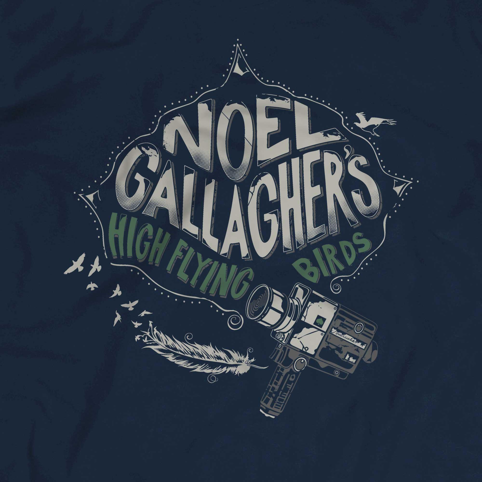 Camiseta High Flying Birds - Noel Gallagher - Masculino
