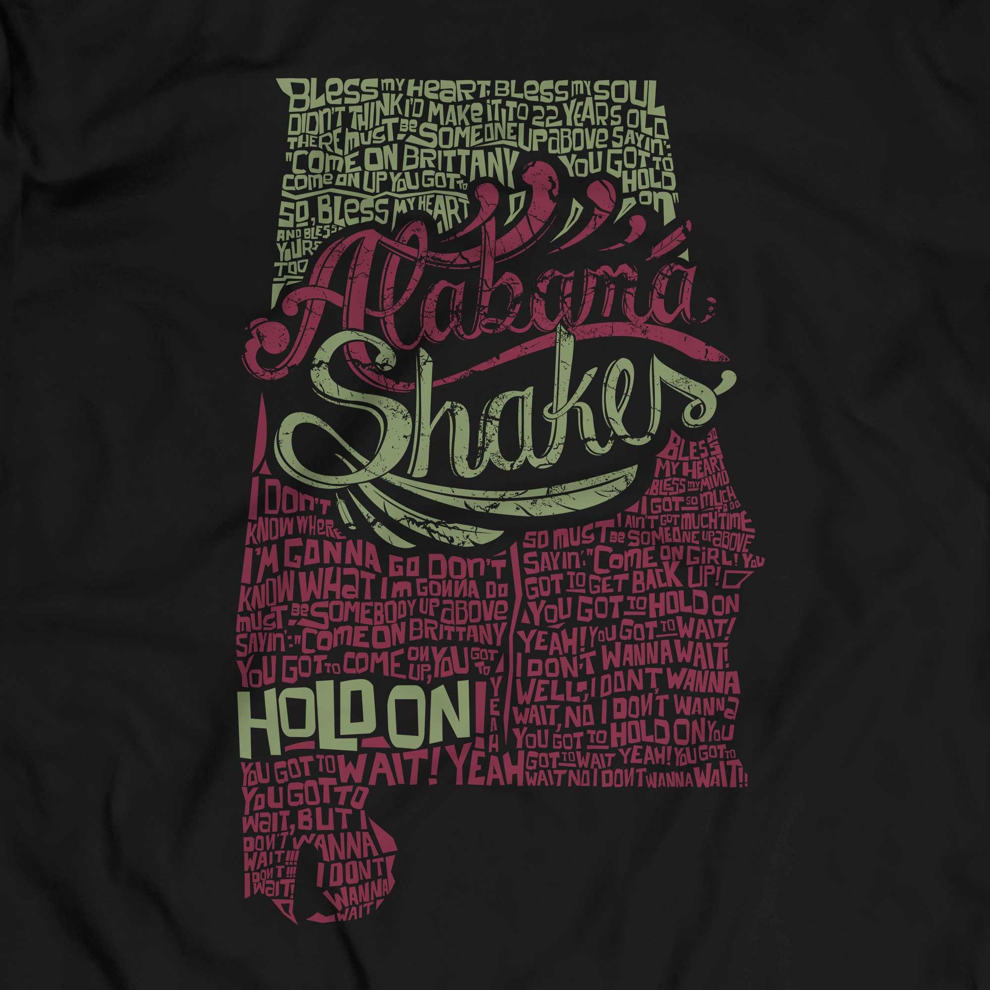 Camiseta Hold On - Alabama Shakes - Masculino