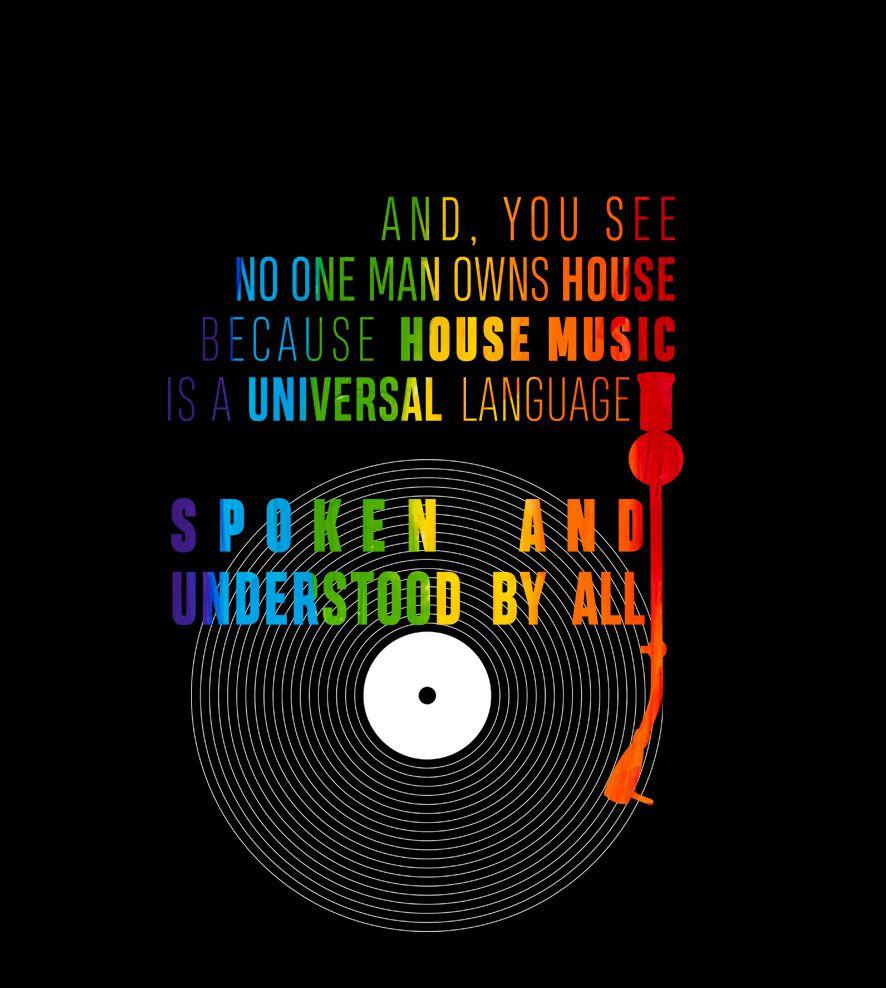 Camiseta - House Music - Disco - infantil