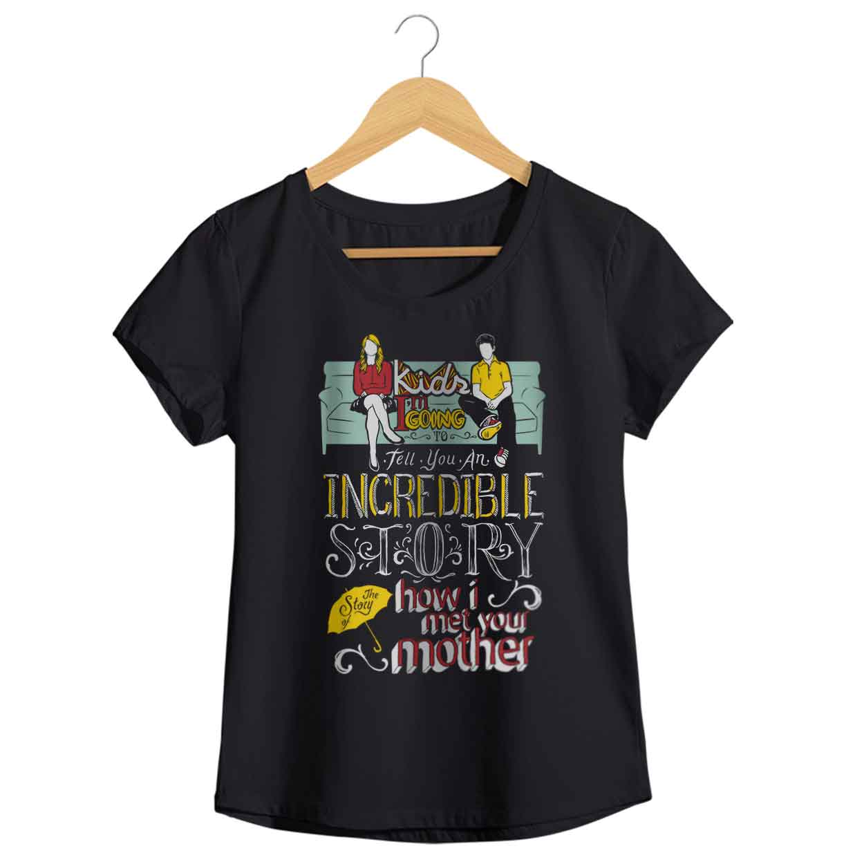 Camiseta - How I Met Your Mother - Feminino